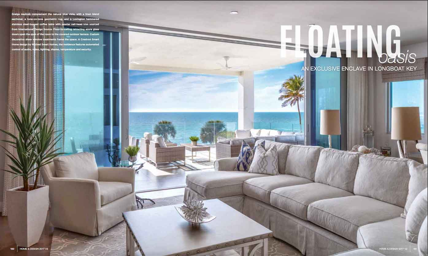 Home & Design - May 2017 - Floating Oasis