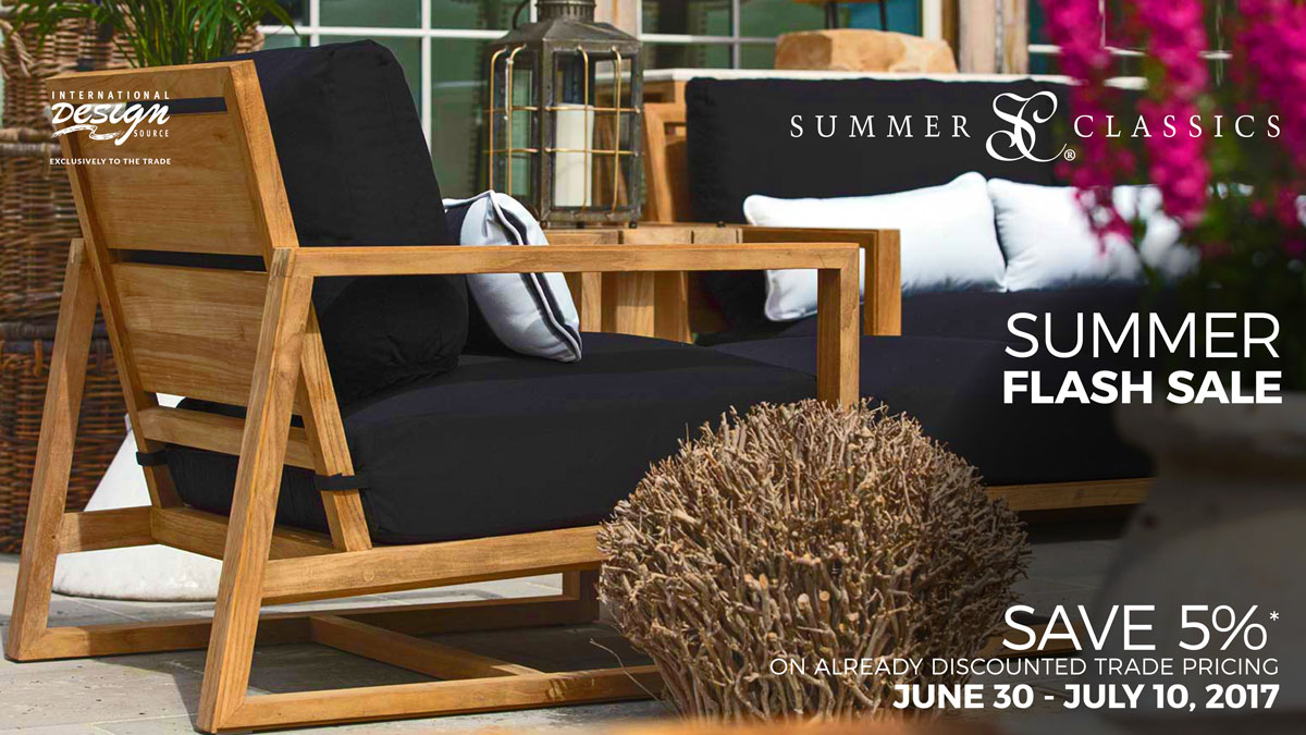 Summer Classics Flash Sale