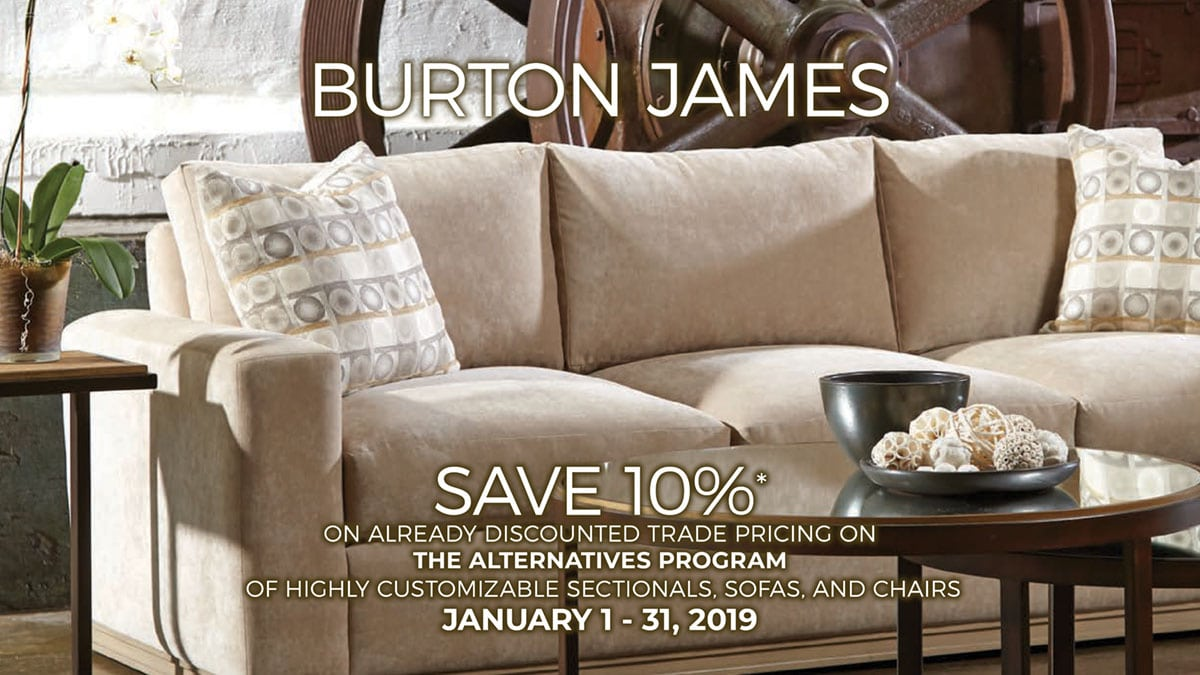 Burton James Alternatives Sale at IDS